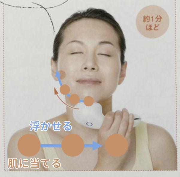 美顔器の摩擦対策